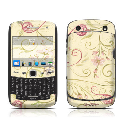 BlackBerry Curve 9300 Series Skin - Tulip Scroll