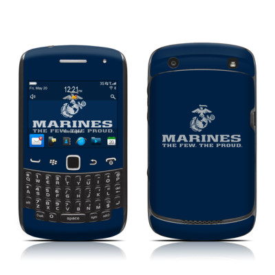 BlackBerry Curve 9300 Series Skin - USMC Blue