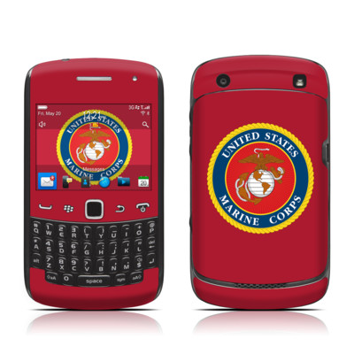 BlackBerry Curve 9300 Series Skin - USMC Red