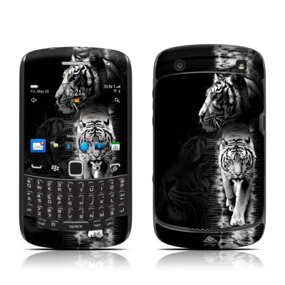 BlackBerry Curve 9300 Series Skin - White Tiger