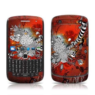 BlackBerry Curve 9300 Series Skin - Wild Lilly