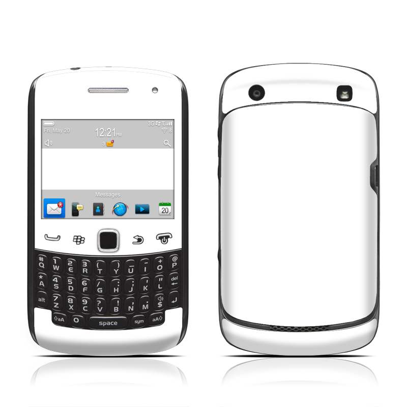 BlackBerry Curve 9300 Series Skin - Solid State White