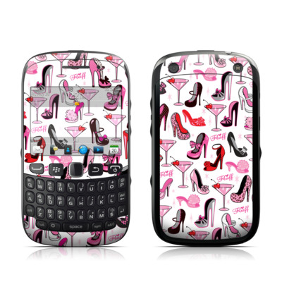 BlackBerry Curve 9320 Skin - Burly Q Shoes