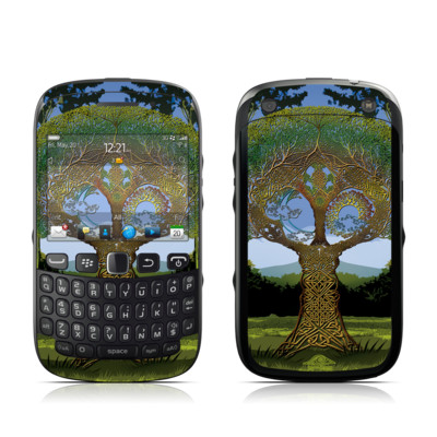BlackBerry Curve 9320 Skin - Celtic Tree