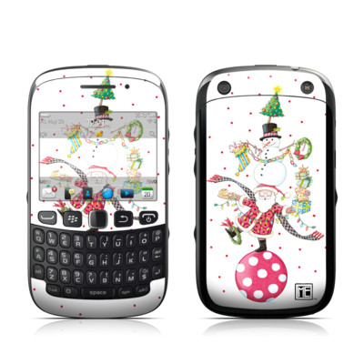 BlackBerry Curve 9320 Skin - Christmas Circus