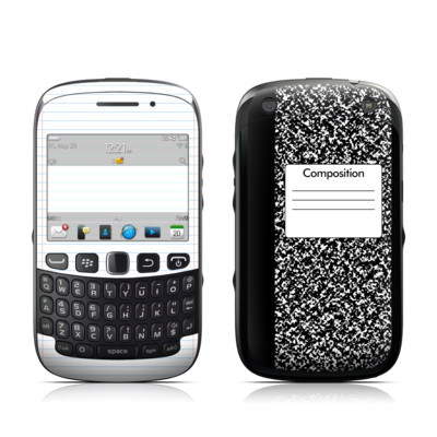 BlackBerry Curve 9320 Skin - Composition Notebook