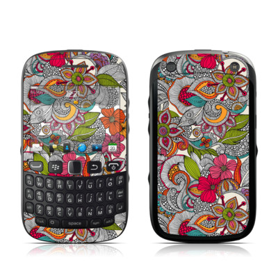 BlackBerry Curve 9320 Skin - Doodles Color