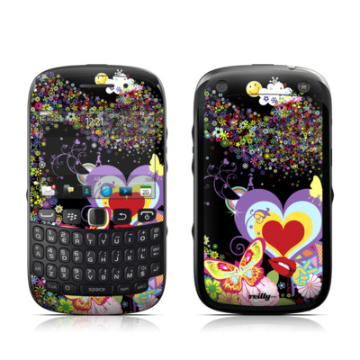BlackBerry Curve 9320 Skin - Flower Cloud