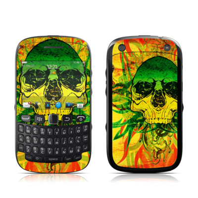 BlackBerry Curve 9320 Skin - Hot Tribal Skull