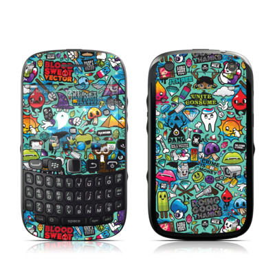 BlackBerry Curve 9320 Skin - Jewel Thief