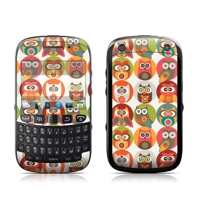 BlackBerry Curve 9320 Skin - Owls Family