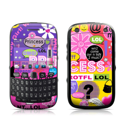 BlackBerry Curve 9320 Skin - Princess Text Me