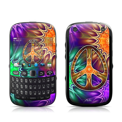 BlackBerry Curve 9320 Skin - Peace Triptik
