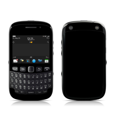 BlackBerry Curve 9320 Skin - Solid State Black