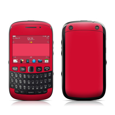 BlackBerry Curve 9320 Skin - Solid State Red