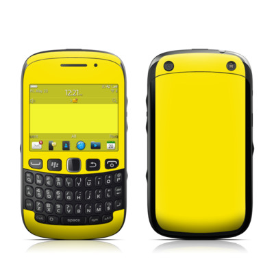 BlackBerry Curve 9320 Skin - Solid State Yellow
