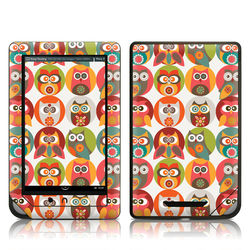 Barnes and Noble NOOKcolor Skin - Owls Family