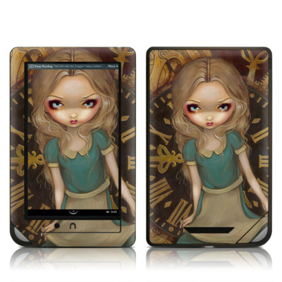 Barnes and Noble NOOKcolor Skin - Alice Clockwork