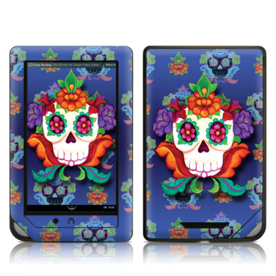 Barnes and Noble NOOKcolor Skin - Altar Skull