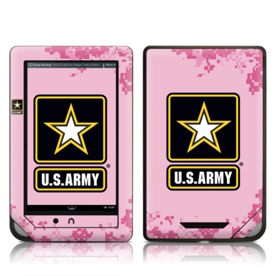 Barnes and Noble NOOKcolor Skin - Army Pink