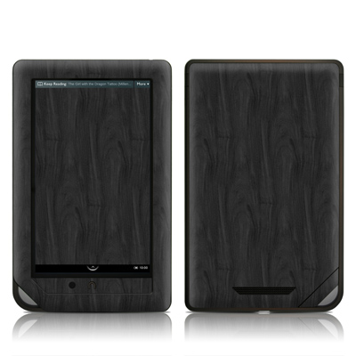 Barnes and Noble NOOKcolor Skin - Black Woodgrain