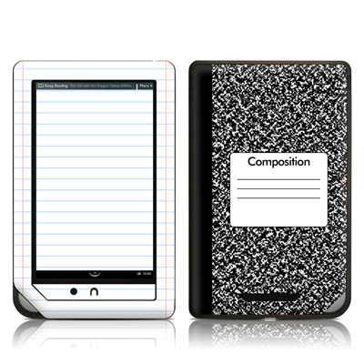 Barnes and Noble NOOKcolor Skin - Composition Notebook