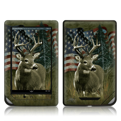 Barnes and Noble NOOKcolor Skin - Deer Flag
