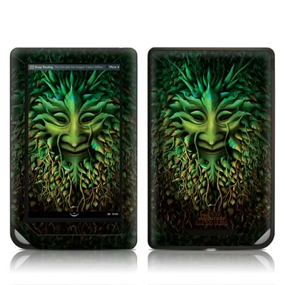 Barnes and Noble NOOKcolor Skin - Greenman