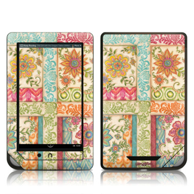 Barnes and Noble NOOKcolor Skin - Ikat Floral