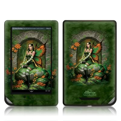 Barnes and Noble NOOKcolor Skin - Jade Fairy