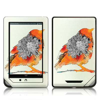 Barnes and Noble NOOKcolor Skin - Orange Bird