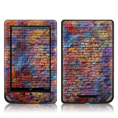 Barnes and Noble NOOKcolor Skin - Painted Brick