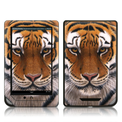 Barnes and Noble NOOKcolor Skin - Siberian Tiger