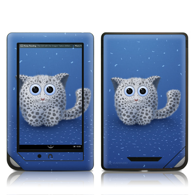 Barnes and Noble NOOKcolor Skin - Snow Leopard