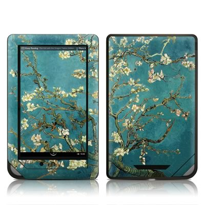 Barnes and Noble NOOKcolor Skin - Blossoming Almond Tree