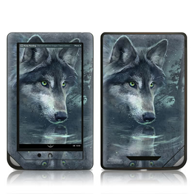 Barnes and Noble NOOKcolor Skin - Wolf Reflection