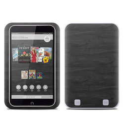 Barnes and Noble NOOK HD Tablet Skin - Black Woodgrain