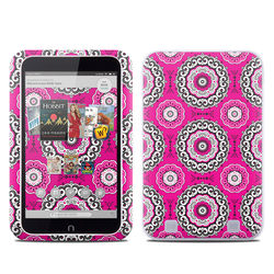 Barnes and Noble NOOK HD Tablet Skin - Boho Girl Medallions