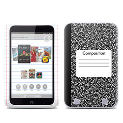 Barnes and Noble NOOK HD Tablet Skin - Composition Notebook