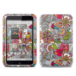 Barnes and Noble NOOK HD Tablet Skin - Doodles Color