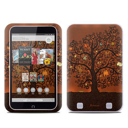 Barnes and Noble NOOK HD Tablet Skin - Tree Of Books