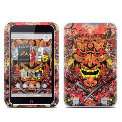 Barnes and Noble NOOK HD Tablet Skin - Asian Crest