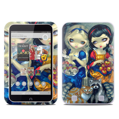 Barnes and Noble NOOK HD Tablet Skin - Alice & Snow White
