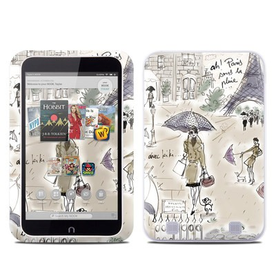 Barnes and Noble NOOK HD Tablet Skin - Ah Paris