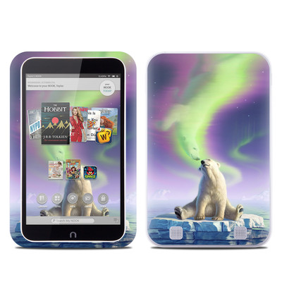 Barnes and Noble NOOK HD Tablet Skin - Arctic Kiss