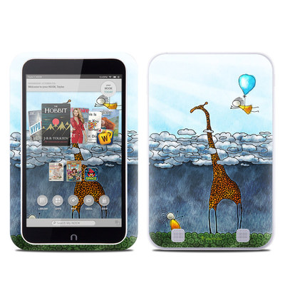 Barnes and Noble NOOK HD Tablet Skin - Above The Clouds