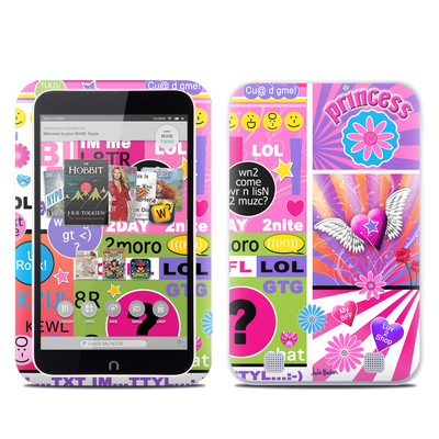 Barnes and Noble NOOK HD Tablet Skin - BFF Girl Talk