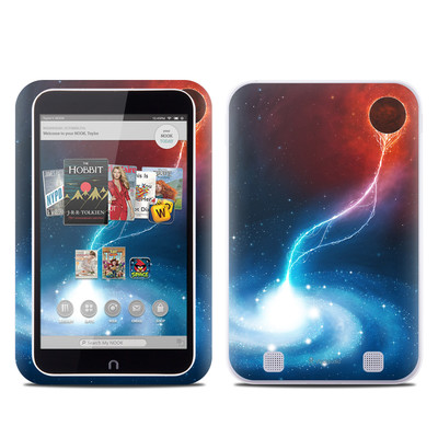 Barnes and Noble NOOK HD Tablet Skin - Black Hole