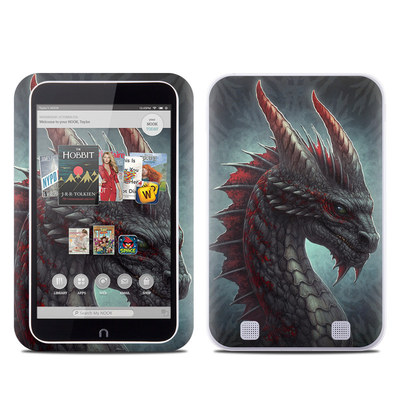 Barnes and Noble NOOK HD Tablet Skin - Black Dragon