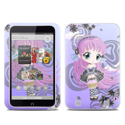 Barnes and Noble NOOK HD Tablet Skin - Blossom